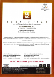 Certificari ISO