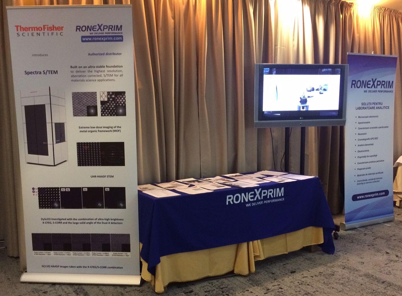 Cea de-a 3-a ediţie a Conferinţei Societăţii de Microscopie Electronică din România (CREMS 2019) - Poiana Brașov, 23 - 25 octombrie 2019