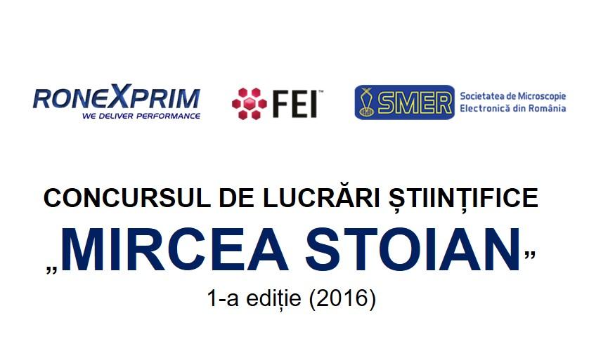 """CONCURSUL DE LUCRARI STIINTIFICE  """"MIRCEA STOIAN"""""""