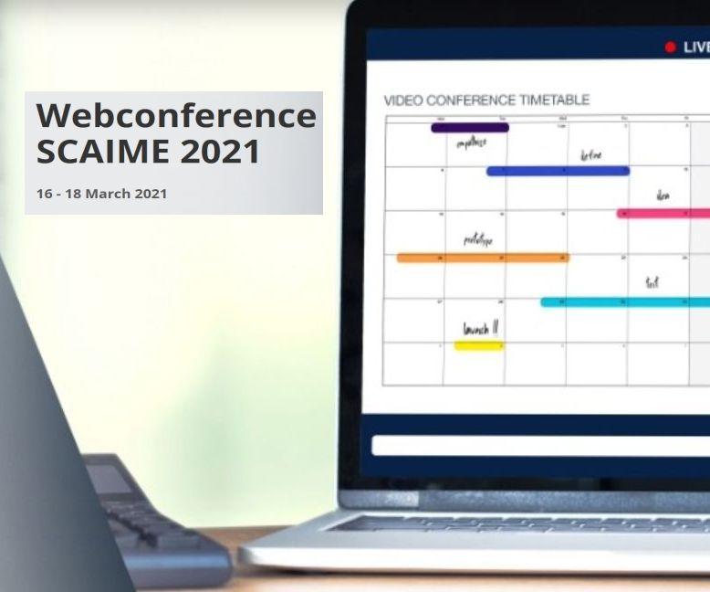 Eveniment ONLine Scaime - 9 prezentări de produse și 3 traininguri, 16 - 18 martie, interval orar 09:00 - 18:50