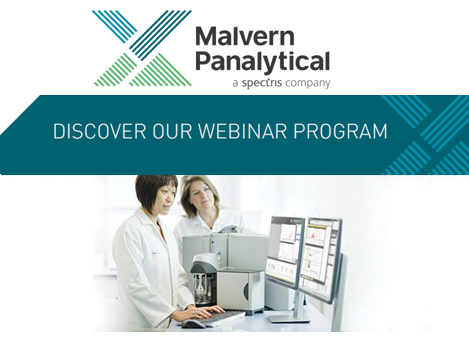 Malvern Panalytical Upcaming Webinars