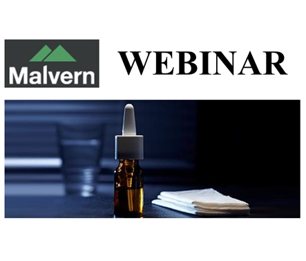 Malvern Webinar - Live: Characterizing Nasal Spray Suspensions for Regulatory  and Scientific Purposes