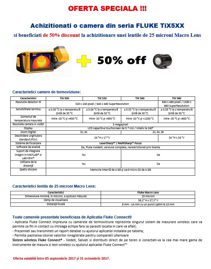 Oferta Camere de termoviziune TiX-5XX