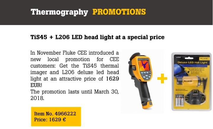 Promotie camere de termoviziune Fluke!