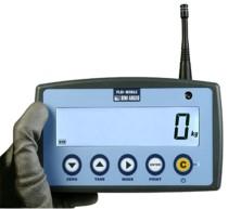 Repetor de greutate cu frecventa radio pentru indicatoarele DFW si cantarele in carlig MCW