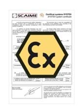 Certificatul sistemului ATEX