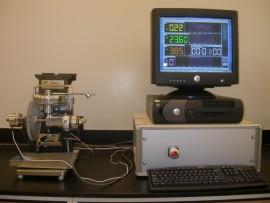 Aparat de testare cu prismă în V și cu pini (Pin and Vee Block) Falex