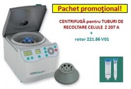 CENTRIFUGA pentru TUBURI DE RECOLTARE CELULE  Z 207 A   +  rotor 221.86 V01