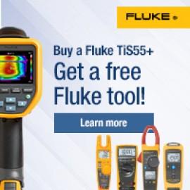 Cumpărați o cameră cu termoviziune si primiți GRATUIT un aparat de măsură Fluke!