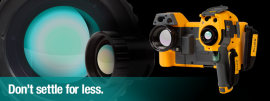 Cumpăraţi o cameră de termoviziune Fluke şi primiţi GRATUIT un obiectiv Fluke!