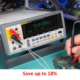 Cumpărați un multimetru de precizie Fluke 8845A / 8846A 6.5 și primiti software + cablu GRATUIT