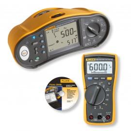 Fluke 1663/1664FC – Tester multifuncțional plus un multimetru CADOU FLuke 114/115 + Software