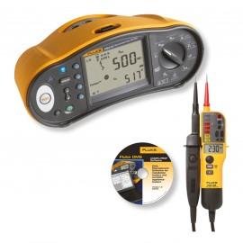 Fluke 1664 FC Tester multifuncțional + CADOU tester cu 2 poli Fluke T150