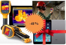 Fluke TiS45: DISCOUNT 41% si o tableta Apple® iPad