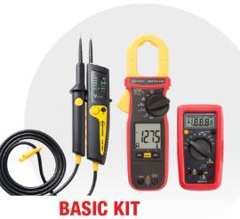 KIT Electrician BASIC - 2100-ALPHA + AMP-210-EUR + AM-500-EUR - 10% DISCOUNT