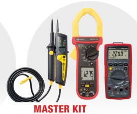 KIT Electrician MASTER - 2100-BETA + AMP-330-EUR + AM-555-EUR - 22% DISCOUNT