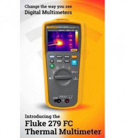 Multimetru digital cu camera de termoviziune in infrarosu Fluke 279FC