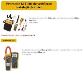 Ofertă specială Fluke: kituri de multimetre