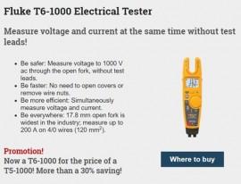 Ofertă specială Fluke - T6-1000 for the price of T5-1000