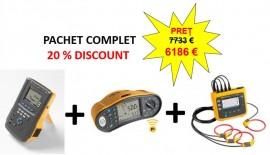 Soluție completă de testare instalaţie electrică şi echipamente medicale - 20% DISCOUNT