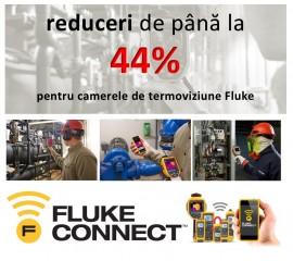 Oferta Toamnei: reduceri de până la 44% la camerele de termoviziune Fluke