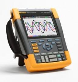 Osciloscop portabil Fluke 190-104 cu 4 canale si 100 MHz