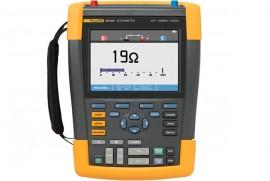 Osciloscop portabil Fluke 190-202 cu 2 canale si 200 MHz