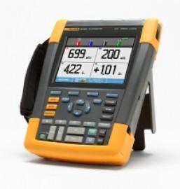 Osciloscop portabil Fluke 190-204 cu 4 canale si 200 MHz