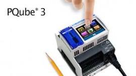 PQube 3, echipament de monitorizare a calitatii energiei Clasa A