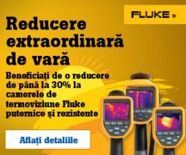 Promotia Verii: pana la 30% reducere la camerele de termoviziune FLUKE