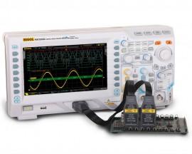 Rigol MSO2302A-S Osciloscop digital 300MHz, 2 canale analogice, 16 canale digitale, 2GSa/s + generator semnal 25MHz