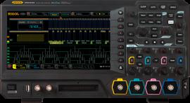 Rigol MSO5354 Osciloscop digital 350MHz, 4 canale analogice, 16 canale digitale, 8GSa/s