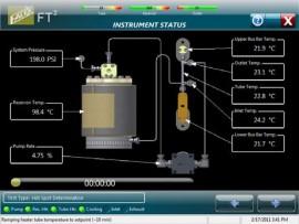 Tester de ancrasare termică Falex